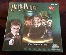 Harry Potter Visual Echo Lenticular 3D Effect 500 pc Jigsaw Puzzle NEW SEALED #1