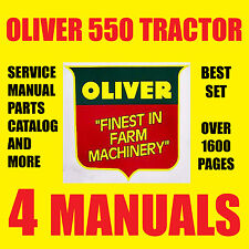 Heavy equipment parts accessories for oliver ebay oliver 550 series tractors service manual parts catalog repair manuals cd dvd fandeluxe Image collections