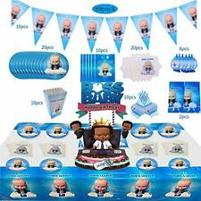 89 PCS Baby Boss Party Supplies for Boys Birthday Decorations...