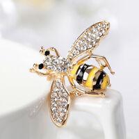 FT- Women Cartoon Bumble Bee Enamel Handmade Badge Brooch Pin Jewelry Tasteful