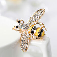 Women Cartoon Bumble Bee Enamel Handmade Badge Brooch Pin Jewelry Tasteful