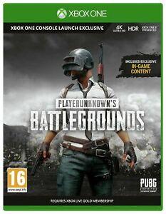 PlayerUnknown's Battlegrounds Xbox One / Series X NEW **UNSEALED**