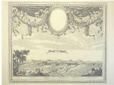 1 Orig Kupferstich Beaulieu 1690 PHILIPPSBURG/GESAMTANS
