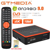 GTMEDIA GTcombo Android 9.0 Dvb-S2/Dvb-T2/DVB-C Combo Tivusat Decoder H.265 4K