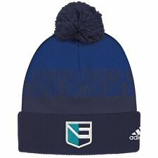 Europe 2016 World Cup Of Hockey Player Cuffed Pom Knit Hat