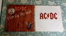 AC/DC Fly On The Wall 1985 Euro LP With Inner VG/Ex Classic Hard Rock
