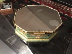 Napoleonic Sevres Mirror Top Jewelry Box Circa 1804-1809