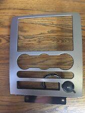 2005 Ford Five Hundred Radio Climate Dash Trim Bezel w/ 12v power outlet
