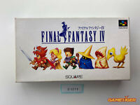 FINAL FANTASY IV 4 Nintendo Super Famicom SFC JAPAN Ref:315273