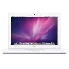 "Apple MacBook 13"" Core 2 Duo 2.4Ghz 4GB 500GB White Unibody Mid-2010 MC516 A1342"