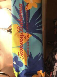 Tommy Bahama Beach Sun Shelter - Shade Tent - Green Print New Portable NEW