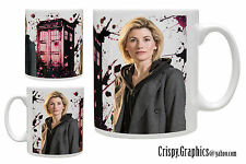 DR WHO MUG - JODIE WHITTAKER - 13th Doctor Tardis Mug