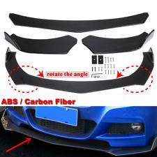 Carbon Fibre Front Bumper Splitter Spoiler For Lincoln Town Car Zephyr