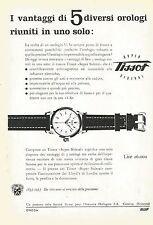 W0341 Orologio TISSOT - Pubblicità 1953 - Advertising