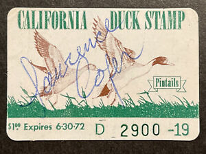 TDStamps: US California Duck Stamps Scott#1 Used