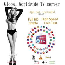 IP*TV Smart Abonnement 12 mois Smarters Pro M3U SMART TV ANDROID BOX MAG