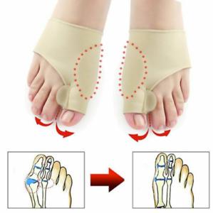 2pcs Hallux Valgus Bunion Corrector Orthopedic Adjuster Brace Foot Toe Separator