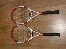 Two Rackets. Wilson Tennis Racket Six One 95 S 4 3/8