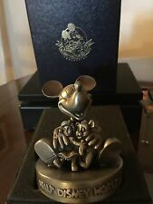 """MICKEY MOUSE"" L/E pewter figurine.1994 DISNEY WORLD BEAR & DOLL CONV.L/E 800 pc"