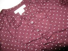 ° H&M °   Süßes  Kleid    Gr. 80  aubergine  SEHR  GUT