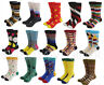 Mens Cotton Happy Socks Colorful Fashion Fancy Casual Sock Male SOX wedding Gift