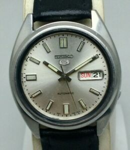 VINTAGE SEIKO 5 AUTOMATIC 7S26-0480 DAY/DATE WATCH