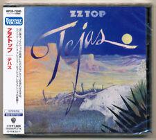 ZZ Top - Tejas / Japan CD Warner Bros. WPCR-75595 / NEW! Still sealed! Sold out!