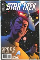 Star Trek Spock Reflections 2 B IDW 2009 NM+ 9.6 David Williams Variant