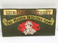 GIBSONS 221B BAKER STREET THE MASTER DETECTIVE GAME VINTAGE COMPLETE