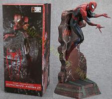 """Crazy Toys The Amazing Spiderman 18"""" Peter Paker Action Figurine Modèle Noir"""