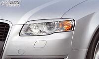 RDX Scheinwerferblenden AUDI A4 B7 8H Cabrio Böser Blick Blenden Tuning