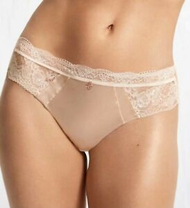NEW PLUS SIZE SILK & LACE BRAZILIAN KNICKERS ROSIE FOR AUTOGRAPH ALABASTER SIZES