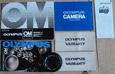 OLYMPUS OM-SYSTEM F. ZUIKO Lens AUTO-S 50mm f/1.8 + Manuals & Extras AWESOME!
