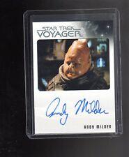 Star Trek Quotable Voyager Andy Milder auto. card