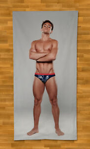 Tom Daley Towel Beach Summer Bath Pool Diver Olympics British Swimmer Sexy Hunk