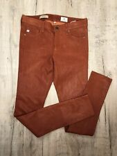 AG Adriano Goldschmied Leather Super Skinny Leggings Size W27 RRP £ 850