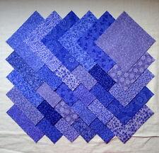 """#141 CARIBBEAN AQUA 5/"""" Squares ~ 100/% Cotton Prewashed ~ Quilt Block Fabric"""