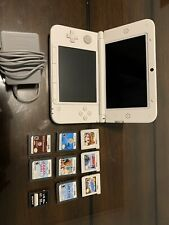 nintendo 3ds xl bundle.  Charger , 32GB Storage And 8 Games. Great Condition