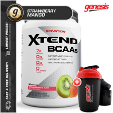 Scivation Xtend *90 Serve Strawberry Mango* BCAA Aminos Recovery + FREE Gift!