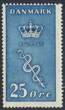 Denmark Scott B5/Afa 180, 25+5ø blue Cancer issue, F fresh mint Nh