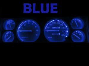 Gauge Cluster LED Dashboard Bulbs Blue For Jeep 84 96 Cherokee Wagoneer