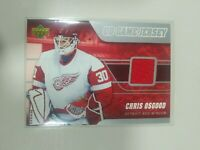 2006-07 Upper Deck Series 2 UD Game Jersey Chris Osgood #J2-DR Detroit Red Wings