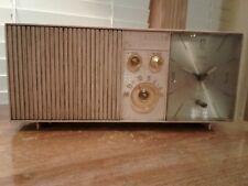Vintage Emerson Lifetimer I Atomic Clock AM Tube Radio For Parts Or Restoration