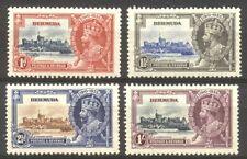 Bermuda #100-03 Mint Nh - 1935 Silver Jubilee