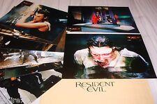 RESIDENT EVIL ! Jovovich jeu photos cinema lobby cards fantastique zombie