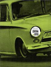 Ford Cortina Lotus Mk1 1963-64 UK Market Sales Brochure