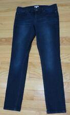 New York & Company Low Rise Leggings Dark Wash Skinny Jeans Womens 12