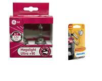 H7 MegaLight Ultra +90% bis 90% mehr Licht Autolampe 2St GE + W5W Vision Philips