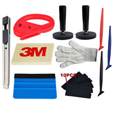 Car Wrap Vinyl Application Tools Kit 3M Micro Squeegee Tuck Tools Gasket Combo