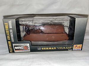 Easy Model 36203 WWII German Maus Heavy Tank with Primer Finish 1/72 Scale Model